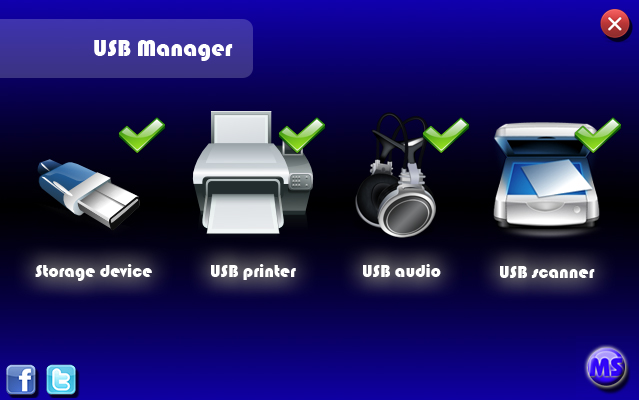 USB Manager Screenshot